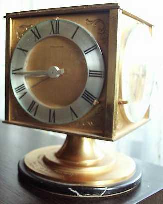 tischuhren mit barometer